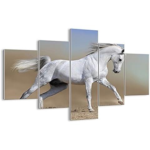Cuadro sobre vidrio - Cuadro de cristal - 5 piezas - Ancho: 100cm, Altura: 70cm - Foto número 0167 - listo para colgar - Pinturas en vidrio - impresiones sobre vidrio - Cuadro en vidrio - GEA100x70-0167