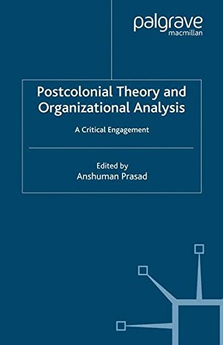and Organizational Analysis: A Critical Engagement ()