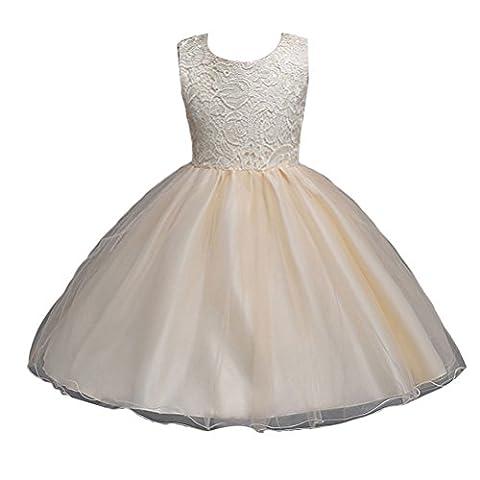 Zhuhaitf Premium Quality Girls Party Dress Princess Wedding Bridesmaid Dresses