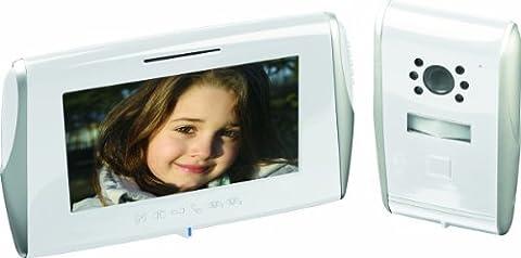 Interphone Sofia - SCS SEN4160792 Kit portier vidéo Touche sensitive