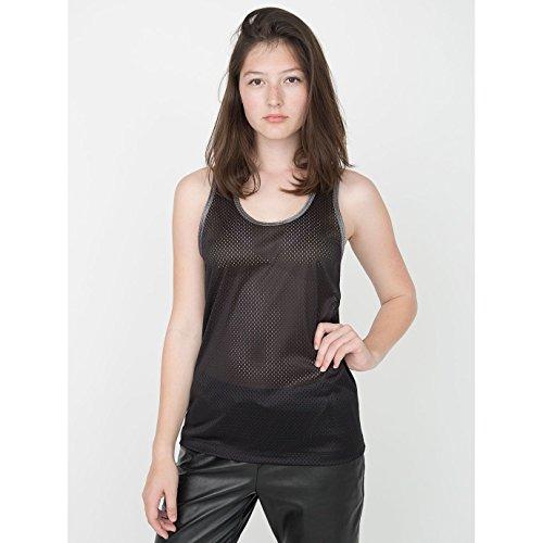 american-apparel-unisex-tank-top-oberteil-armellos-besonders-leicht-netzgewebe-small-schwarz-silber