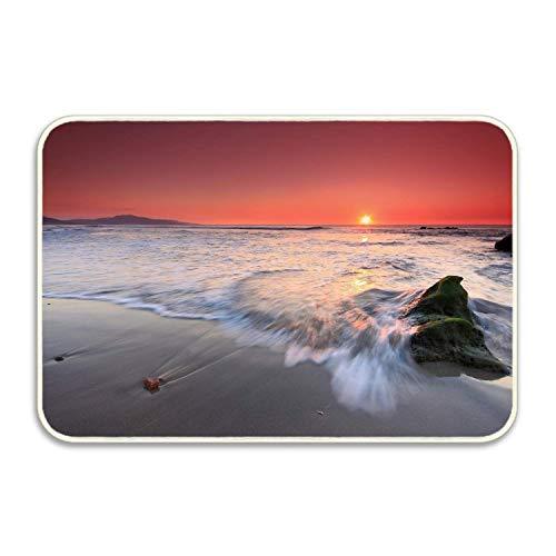 lijied Beach Welcome Carpet Non-Slip Floor Rugs Mat for Outdoor/Bath/Toilet/Living Room/Dining Room/Playroom,Doormat Size 20