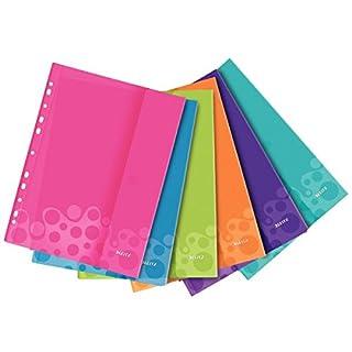 Leitz WOW Dokumententasche, A4, verschiedene Farben, 6Stück