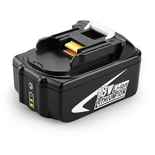 Batterie,Janly Für Makita 18V BL1830 BL1850 Li-Ion Akku Akku Elektro Werkzeug (3.0Ah) Aa Nicad