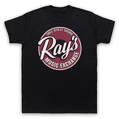Blues Brothers Ray's Music Exchange Herren T-Shirt, Schwarz, 2XL (Blues Brothers Hemd)