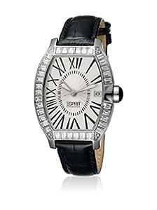 Esprit Collection - EL900372001 - Hestia - Montre Femme - Quartz Analogique - Cadran Blanc - Bracelet Cuir Noir
