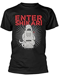 Enter Shikari T Shirt Synaw Band Logo Official Mens Black