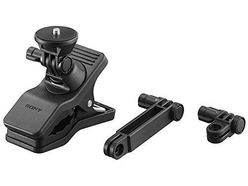 Sony VCT-EXC1 Klemhalterung (einstellbare Klemme, geeignet für Kamera, Camcorder und Action Cam FDR-X3000, FDR-X1000, HDR-AS300, HDR-AS200, HDR-AS50) schwarz
