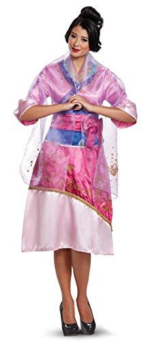 Kostüm Erwachsene Disney Mulan Für - Disney Mulan Deluxe Womens Fancy dress costume Large