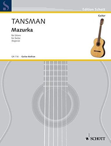 Mazurka Guitare