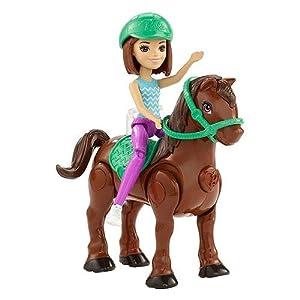 Barbie On The Go Pony Assortment - Muñecas (Multicolor, Femenino, Chica, 4 año(s), 101,6 mm, 1 Pieza(s))