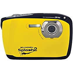 Bell+Howell Splash II WP16-Y 16MP Waterproof Digital Camera with 2.5-inch LCD Screen (Yellow)
