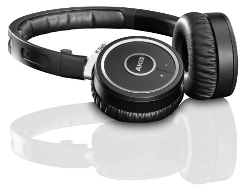 AKG K840 High Performance Kleer Wireless Mini Headphones – Black