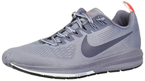 Nike Damen Air Zoom Structure 21 Shield Laufschuhe, Mehrfarbig (Dark Sky Thunder Blue-THU), 37.5 EU (Männer, Die Wasser-schuhe Nike)