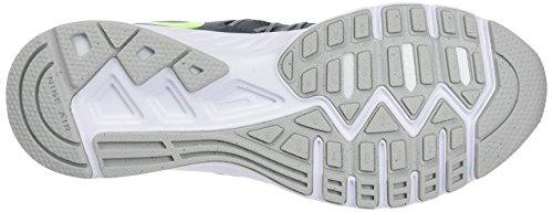Nike 843836-009, Chaussures de Tennis Homme Gris (Dark Grey / Volt / Wolf Grey / White)