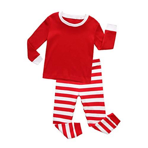 iften Pyjamas Mädchen Weihnachten Pyjamas Vetement Enfant Fille Pyjamas Kinder Weihnachten Pijamas für Mädchen und Jungen Homewear ()