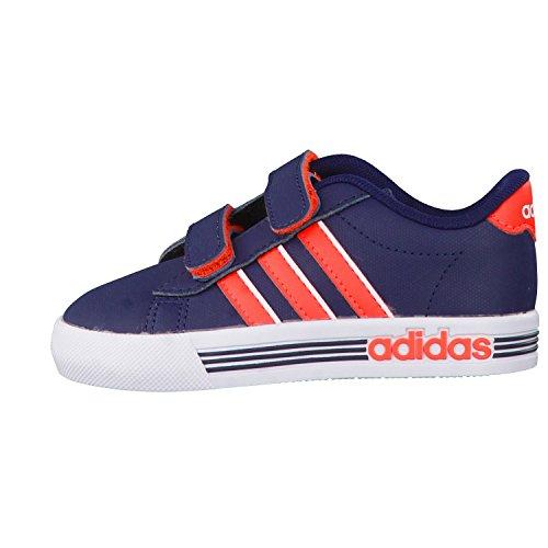 adidas Kinder-Unisex Daily Team Inf Turnschuhe, Grau Blu ( Maruni/Rojsol/Ftwbla)