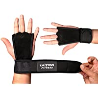 Ultra FITNESS® in pelle lavorata a mano Grips Crossfit Palm