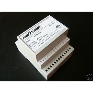 Trennrelais Hutschiene für 6 Rollladen, Jalousien Art. 230-8016-25