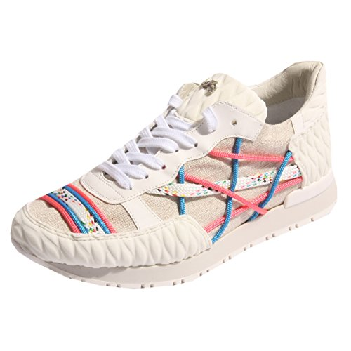 B0379 sneaker donna L4K3 MR BIG scarpa multicolore shoe woman [35]