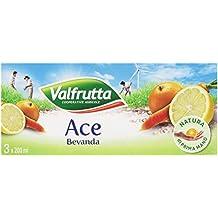 Valfrutta Bevanda Ace - Confezione da 3 x 200 ml - Totale: 600 ml