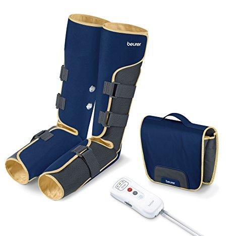 Beurer FM-150 - Botas de presoterapia de uso domestico, color azul