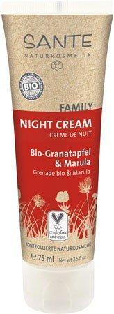 Sante Family Nachtcreme Night Cream Bio Granatapfel & Marula 75 ml Verwöhnt die Haut im Schlaf