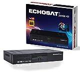 ECHOSAT 20900–Receptor satélite Digital (HDTV, DVB-S/S2, HDMI, euroconector, 2x USB 2.0, Full HD 1080p) [preprogramado para Astra HOTBIRD türksat]