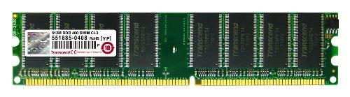 Transcend JM367D643A-5L Jet Ram Arbeitsspeicher 512MB DDR 400 DIMM CL 3