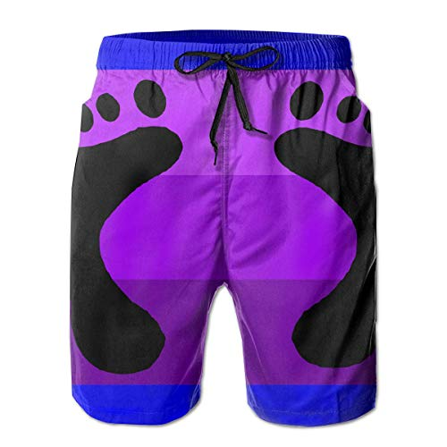 aby Füße Herren Sommer Casual Shorts Beachwear Sport Schwimmen Kurze Badehose Atmungsaktive Badehose ()