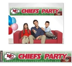 Kansas City Chiefs Party Banner (Banner Party City)