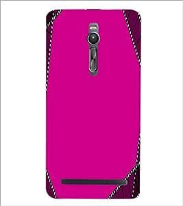 PRINTSWAG PINK PATTERN Designer Back Cover Case for ASUS ZENFONE 2