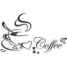 zolimx Etiqueta de la pared decoración de gracioso Letras vinilo casa (C)