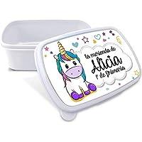 Caja Merienda Unicornio Vuelta al Cole Personalizada con Nombre/Curso | Varios Diseños y Colores a Elegir