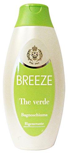 Breeze Lot de 6 bain The Vert 400 ml. Les savons et cosmétiques