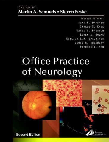 Office Practice of Neurology by Martin A Samuels MD Dr. (2003-05-22)
