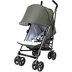 Zeta Twilight Baby Stroller (with Free Rain-Cover) (Olive)   7