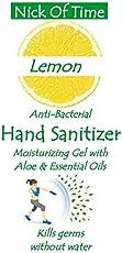 Nick of Time Moisturizing Hand Sanitizer with Aloevera & Lemon (200ml)
