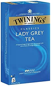 Twinings Lady Grey Tea, 25 Tea Bags
