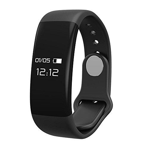 OPAKY Smart Armband Bluetooth 4.0 Touchscreen Fitness Tracker Gesundheit Sport für Kinder, Damen, Männer