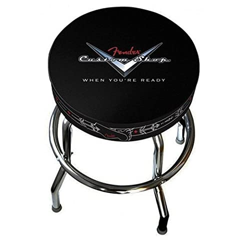 Fender 990230020 Custom Shop Pinstripe Barstools - Black