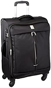 Delsey Flight Soft 65Cm Black Check-In Trolley Luggage (00023481000C9)