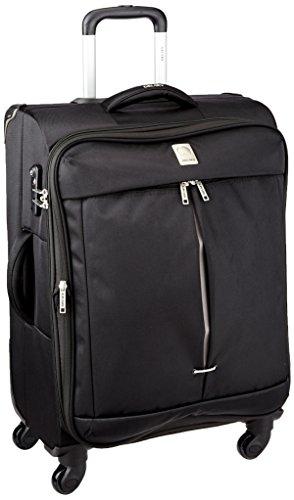 4 ruote valigia estensibile- nera, marchio francese Delsey