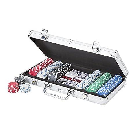 Mallette de Poker Aluminium 300