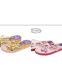 Pack de 2 pares de chanclas - Minnie y Rapunzel OFERTA