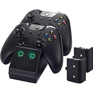 Venom Twin Docking Station für Xbox One – Ladestation für Xbox One Controller inklusive 2 Zusatz Akkus