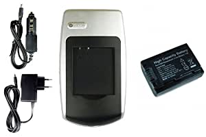 Chargeur + Batterie Sony NP-FP50/FH50 pour Sony HDR-TG3, TG5, TG7