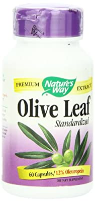 Natures Way Olive Leaf Std 60 Capsules by Nature's Way