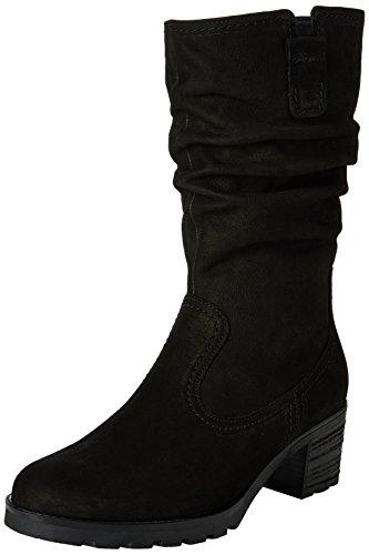 Gabor Shoes 52.802 Damen Halbschaft Stiefel Schwarz (schwarz (Mel.) 47)