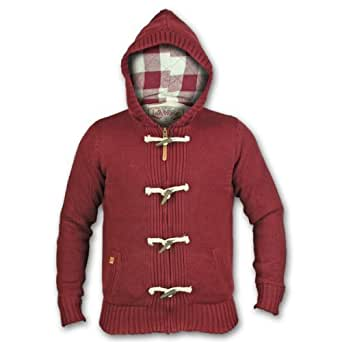 Men's Jacket Tokyo Laundry MJU-1K1233 Burgundy Medium